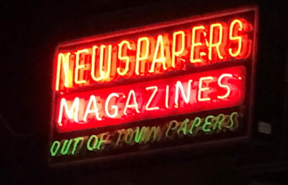 Magazine journalists deliver the world and its wonders into our hands.