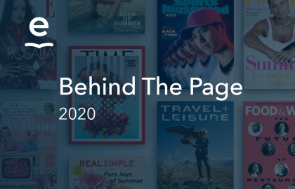 Behind the Page of 2020: Journalism's Journey in America